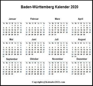 Feiertagen 2020 Brandenburg Kalender