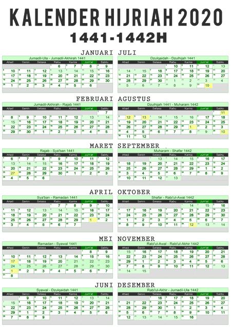 Hijri Kalender 1441