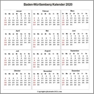 Sommerferien Brandenburg 2020 Excel Word