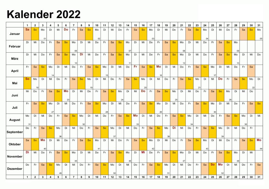 Sommerferien Sachsen 2022 Excel Word