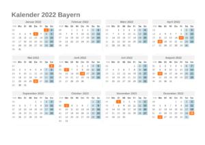 Wann Sind Die Sommerferien Bayern 2022