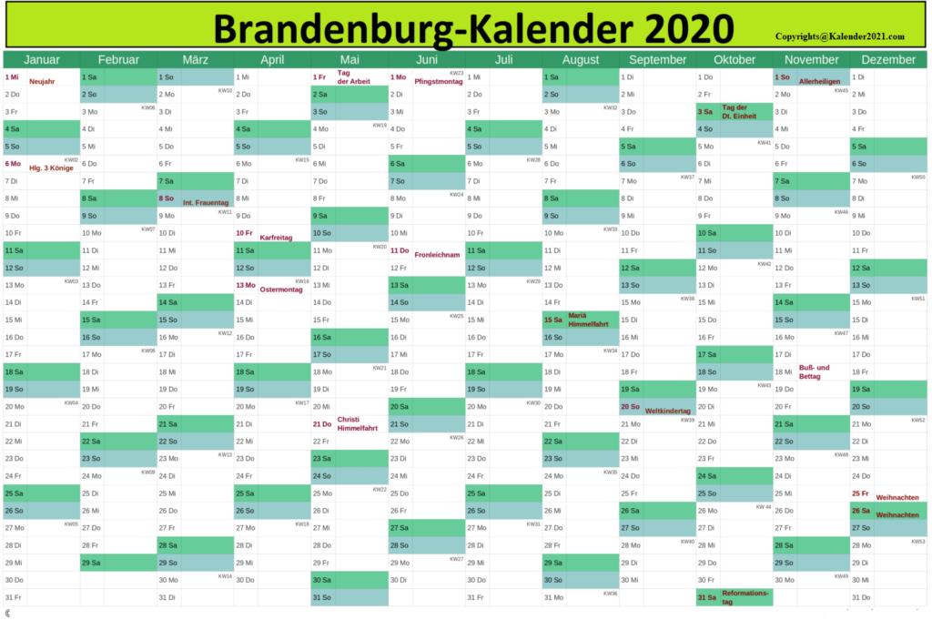 Wann Sind Die Sommerferien Brandenburg 2020
