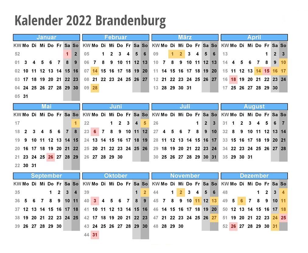 Wann Sind Die Sommerferien Brandenburg 2022?