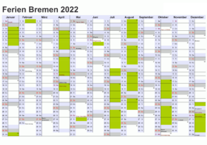Wann Sind Die Sommerferien Bremen 2022?