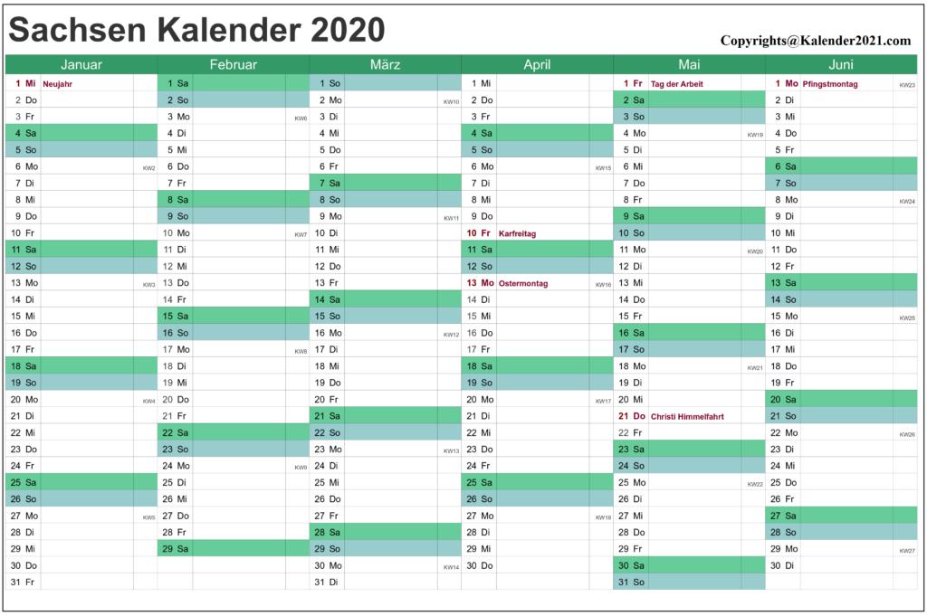 Wann Sind Die Sommerferien Sachsen 2020