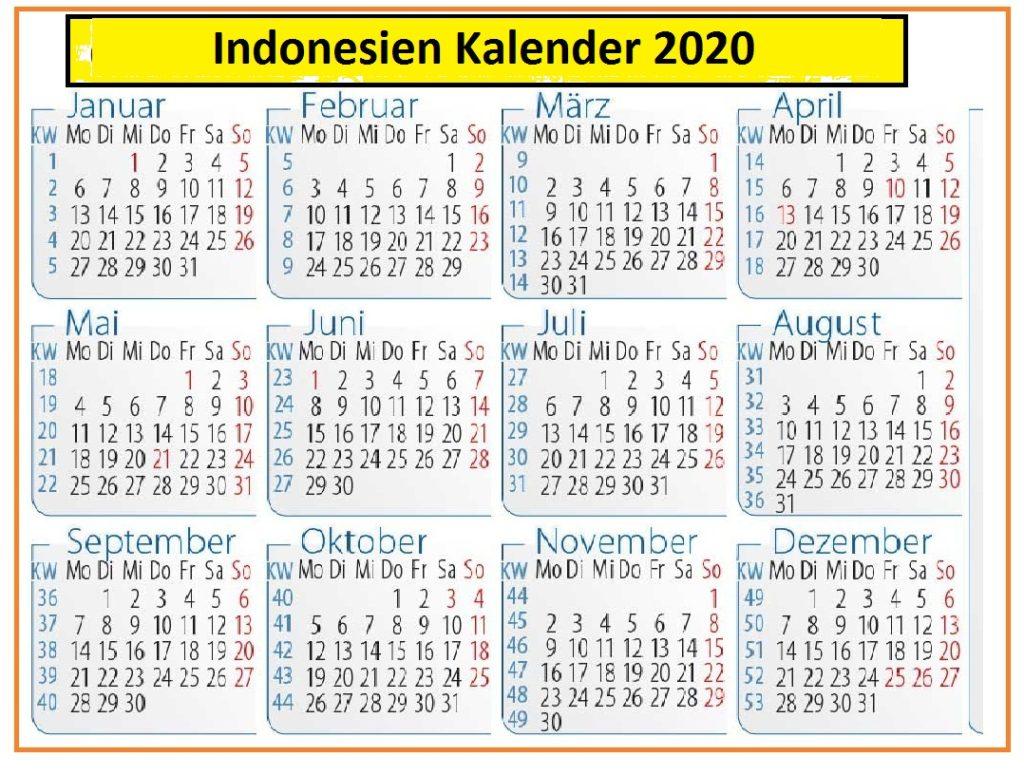 IndonesienKalender2020Lengkap