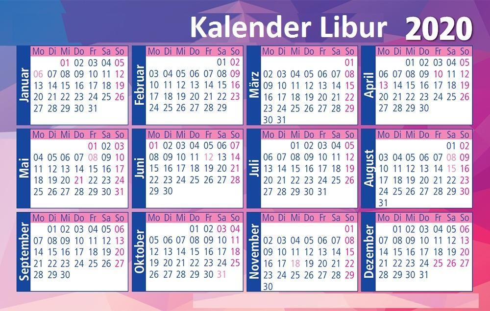 2020 Libur Kalender Lebaran