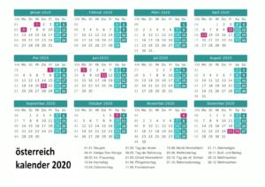 2020 OsterreichKalender PDF