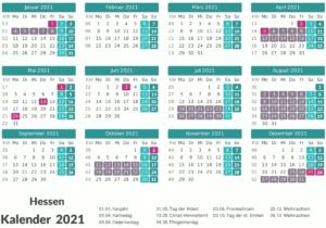 Wann Sind Die Sommerferien Hessen 2021?