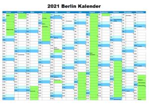 Wann Sind Die Sommerferien Berlin 2021?