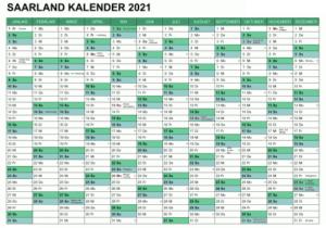 Wann Sind Die Sommerferien Saarland 2021?