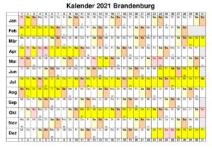 Wann Sind Die Sommerferien Brandenburg 2021?